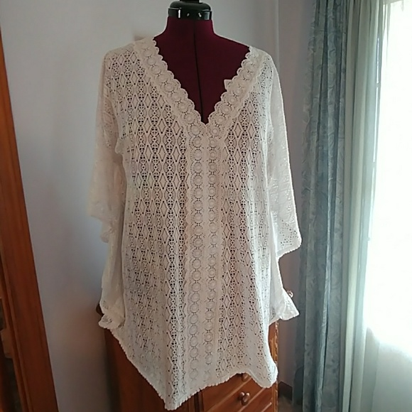 947985d536 Catalina Other - Catalina White Swim Coverup